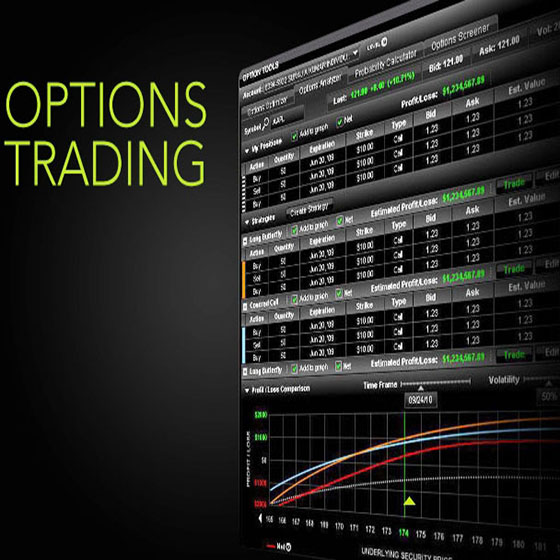 Options trading analysis tool